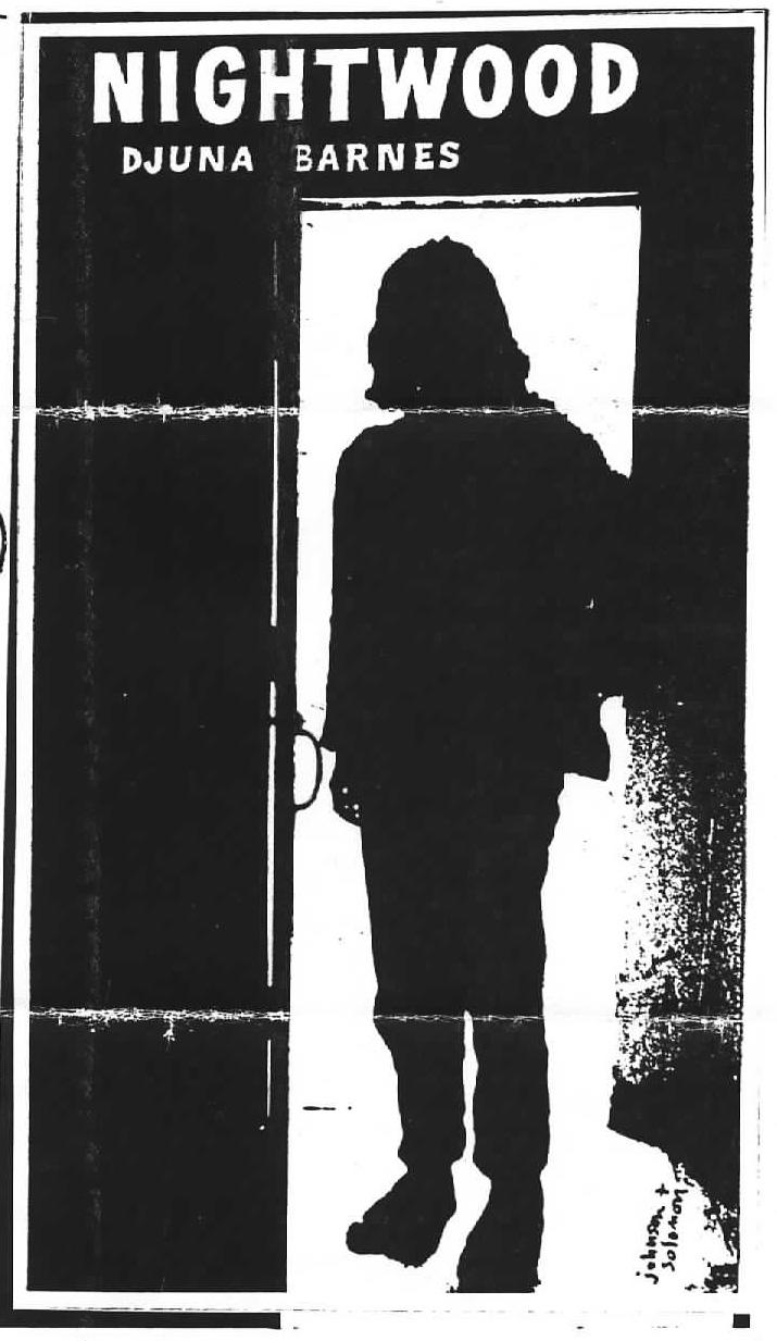 Fig. 20 Ray Johnson and Norman Solomon, Nightwood: Djuna Barnes, circa 1957-61. © Ray Johnson Estate and © Norman Solomon, Courtesy Charlton Burch, Lightworks Magazine.