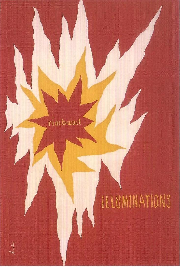 Fig. 17 Alvin Lustig, Illuminations: Arthur Rimbaud, 1945. © Elaine Lustig Cohen, Courtesy of Elaine Lustig Cohen.