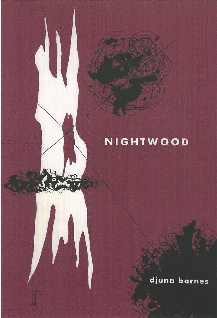 Fig. 21 Alvin Lustig, Nightwood: Djuna Barnes, 1946. © Elaine Lustig Cohen, Courtesy of Elaine Lustig Cohen.
