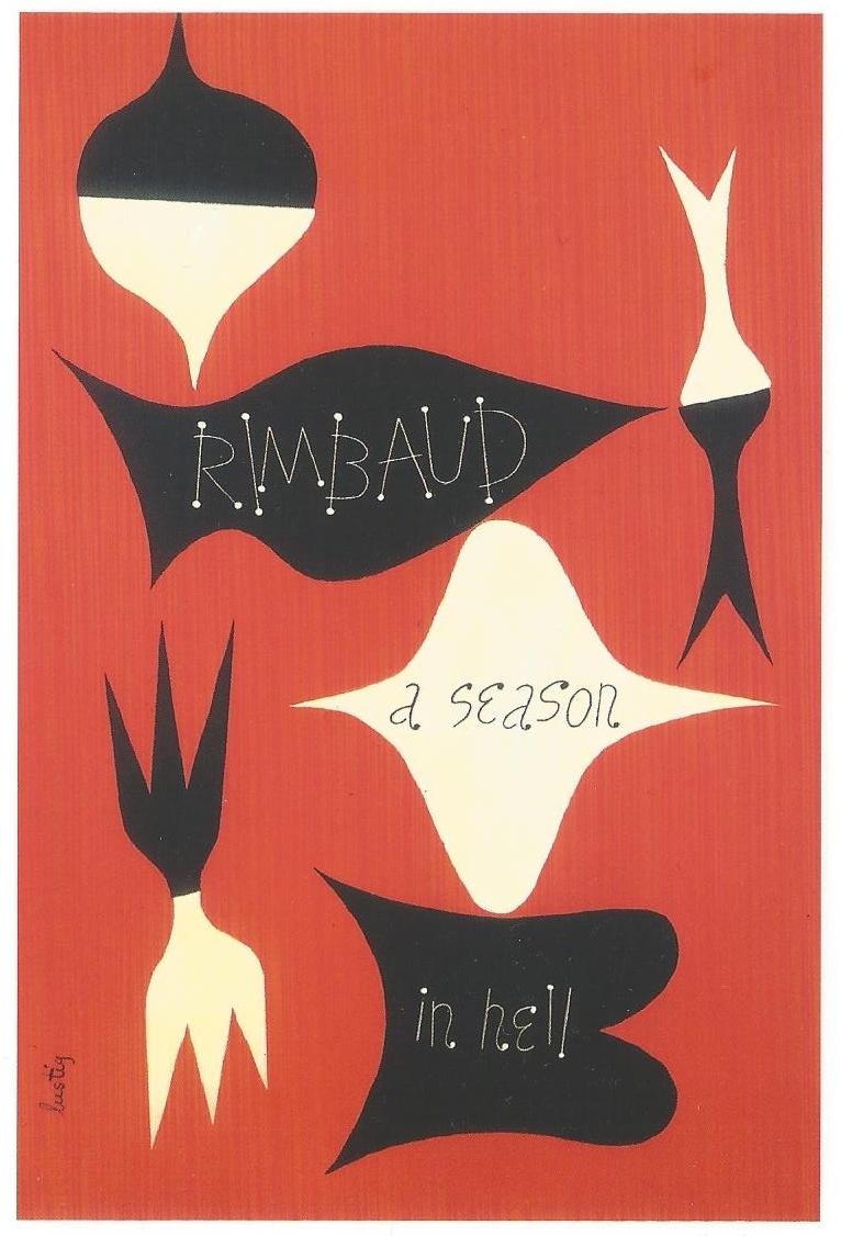Fig. 6 Alvin Lustig, A Season in Hell: Arthur Rimbaud, 1945. © Elaine Lustig Cohen, Courtesy of Elaine Lustig Cohen.